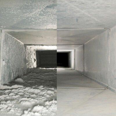 Чистка вентиляции от пыли